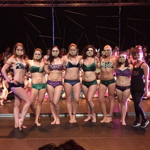 Pole Evolution 2017 paaldans show