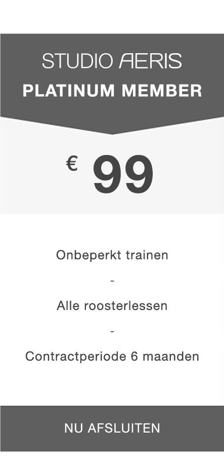 Paaldansen Utrecht - Platinum Member abonnement