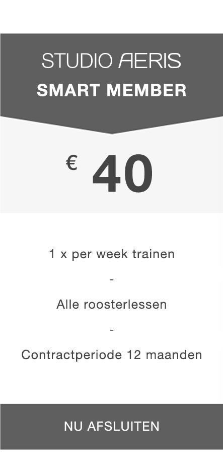 Paaldansen Utrecht - Smart Member abonnement
