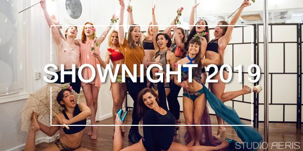 Shownight 2019 paaldans show