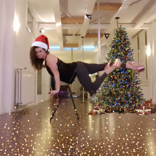 Santa Baby chair dance workshop